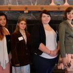 Contestants Starr Godinez, Sonora High; Sheara Haven, Tioga High; Tarynn Warren, Tioga High; Sydney Jones, Summerville High.